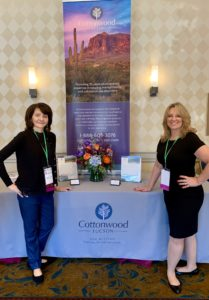 Dawn LaCarte at Conference with Kathleen Parrish